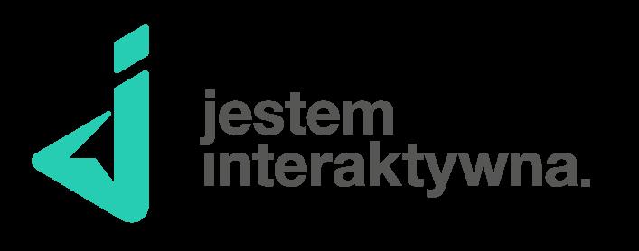 Logotyp dla Jestem Interaktywna